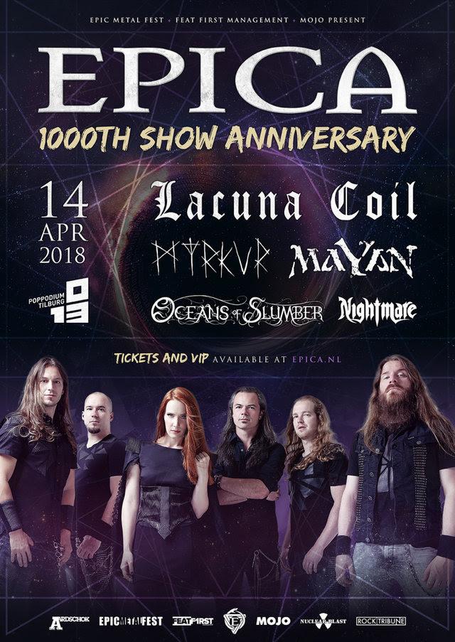 epica 1000 show