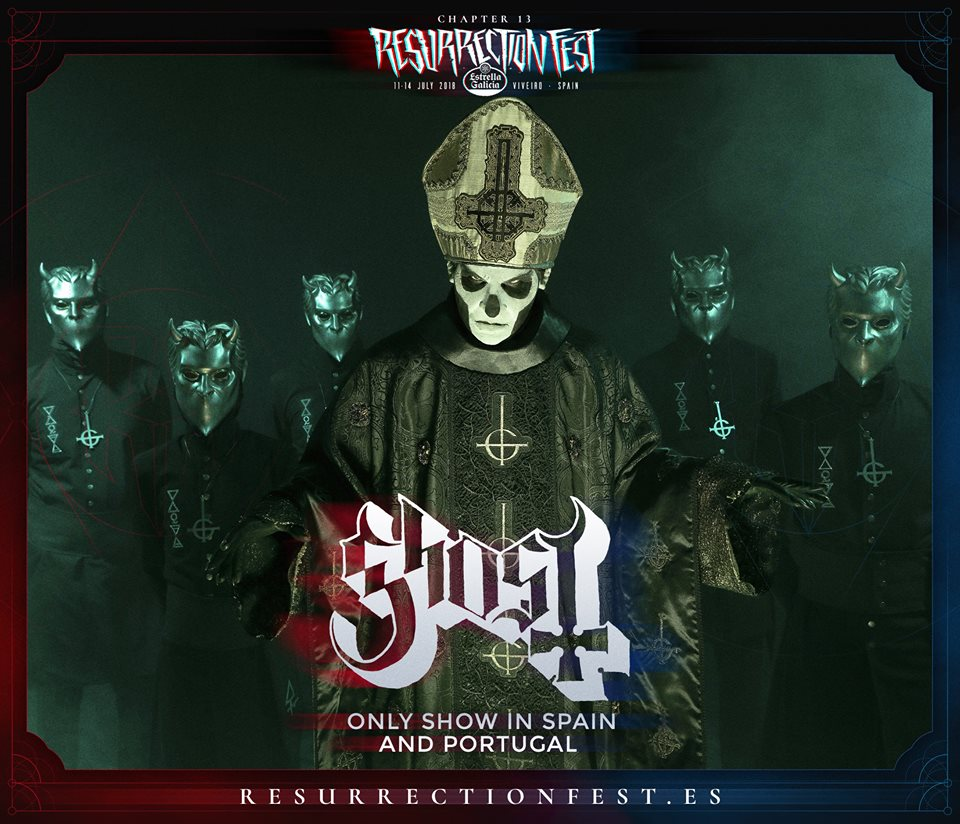 ghost - resurrection fest