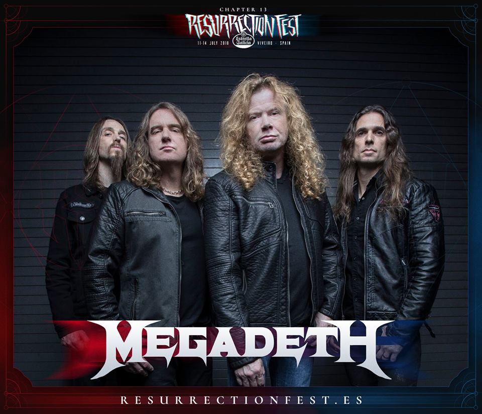megadeth - resurrection fest