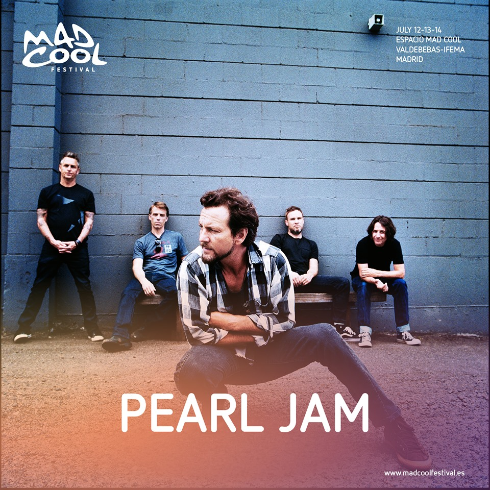pearl jam - mad cool