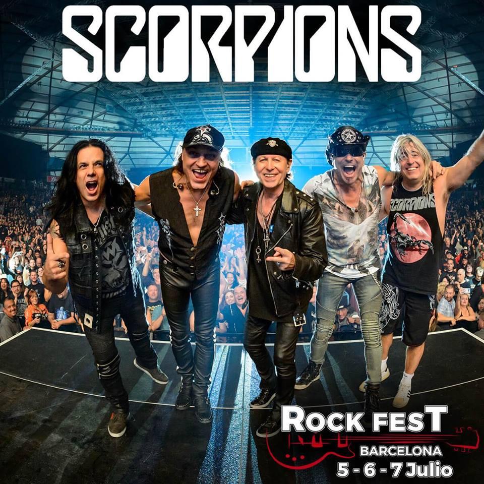 scorpions rock fest