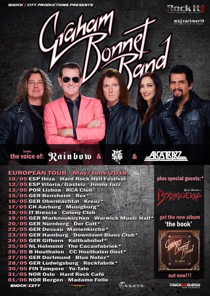 graham bonnet band cartel