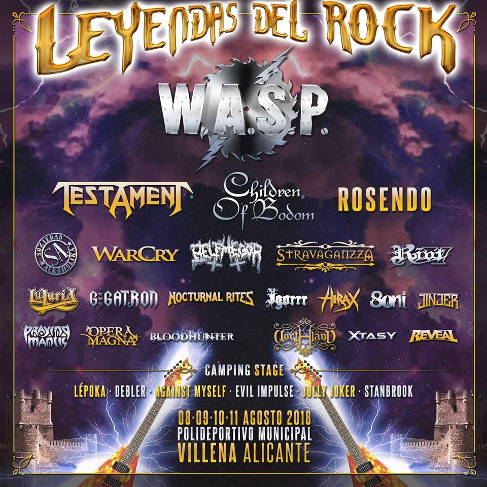 leyendas del rock cartel 18 añadidos