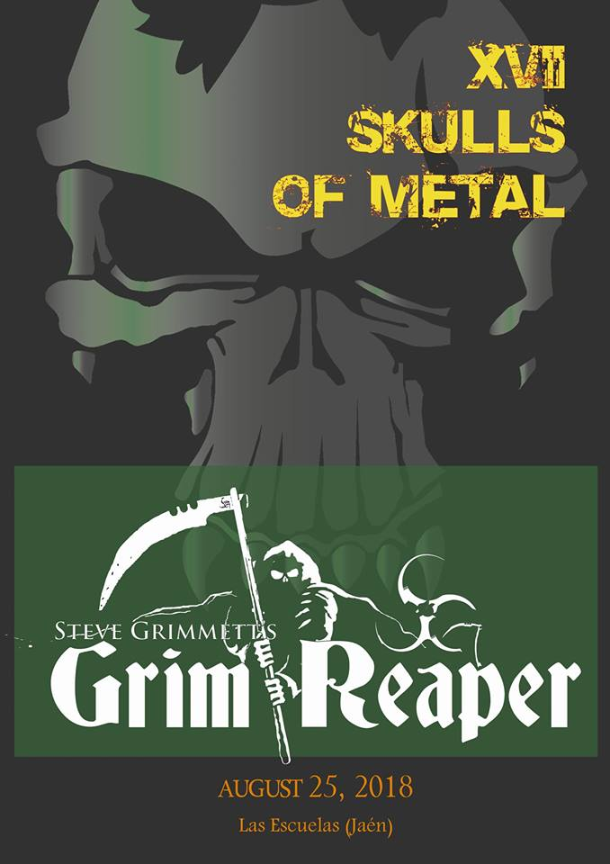 skulls of metal grim reaper