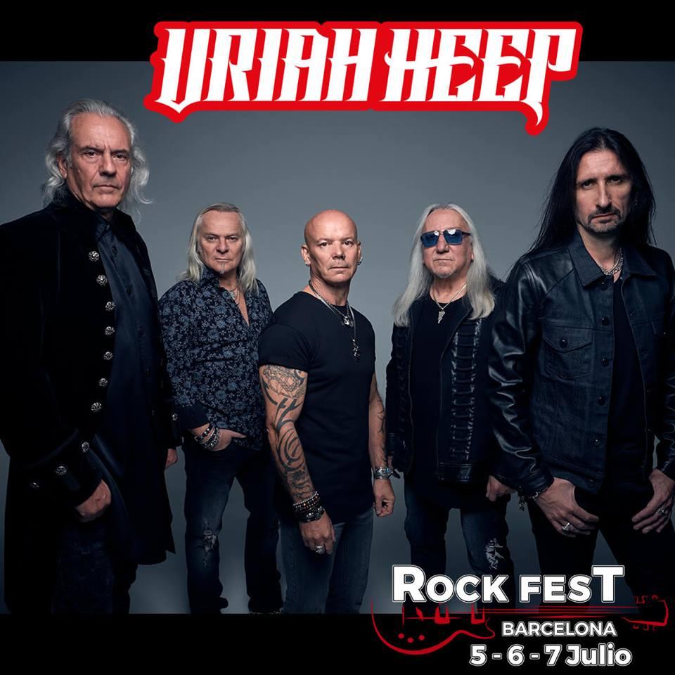 uriah heep rock fest bcn