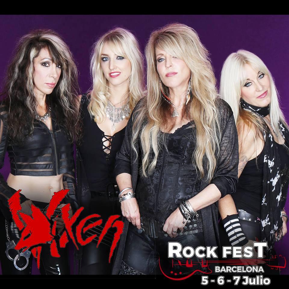 vixen rock fest bcn