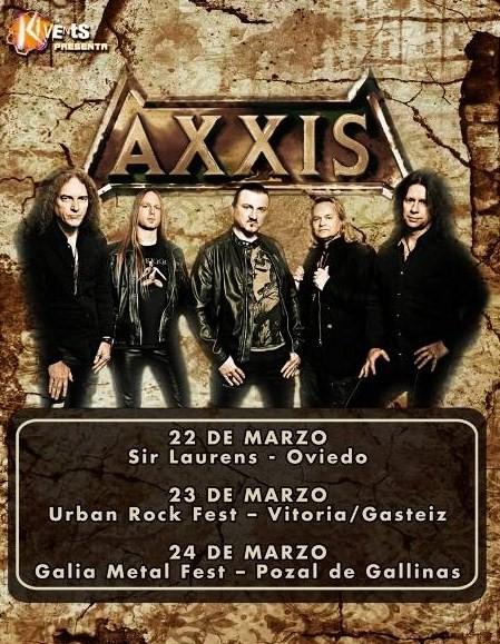 axxis españa marzo