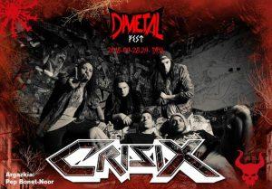 dimetal fest - crisix