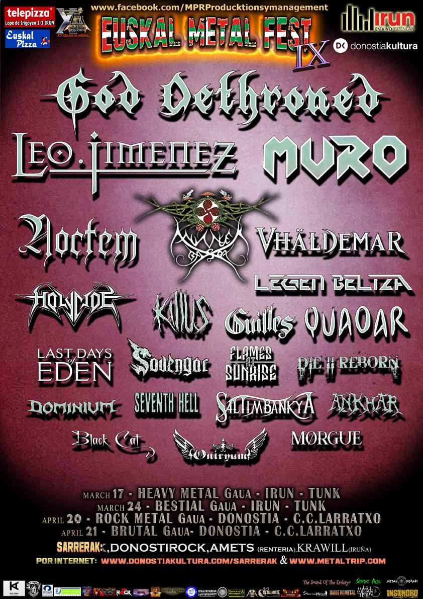 euskal metal fest IX
