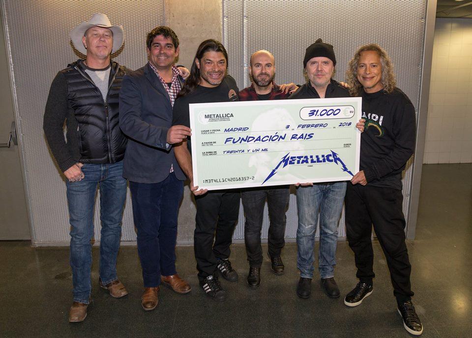 metallica - rais fundación