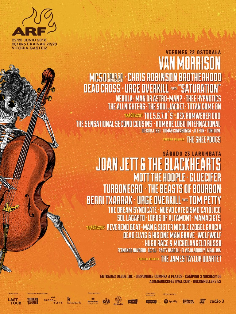 azkena rock festival cartel