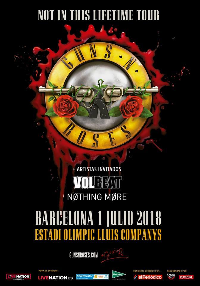 guns n roses - volbeat