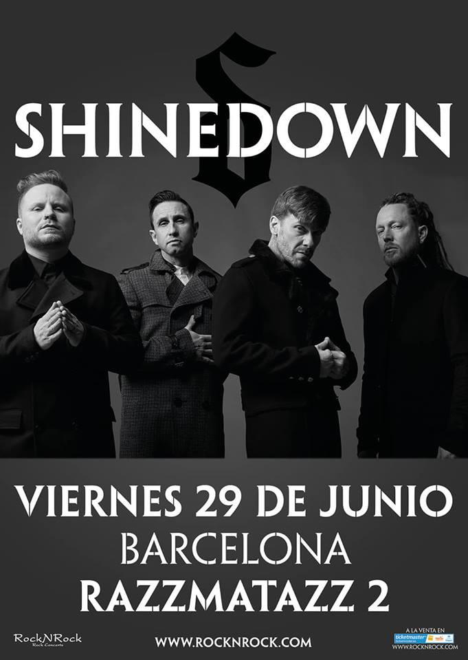 shinedown cartel barcelona