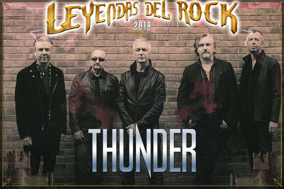 thunder - leyendas del rock 2018
