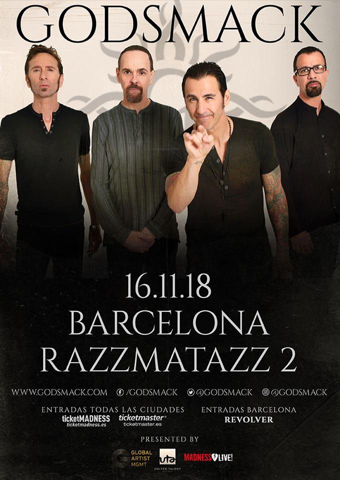 godsmack barcelona