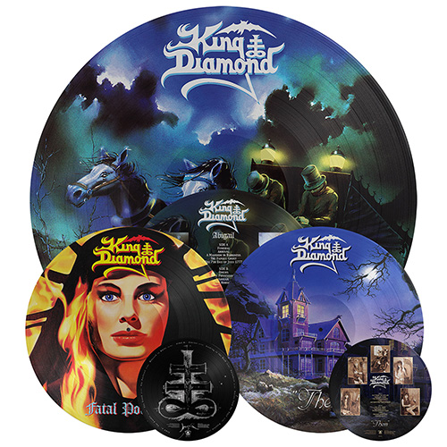 king diamond - picture discs
