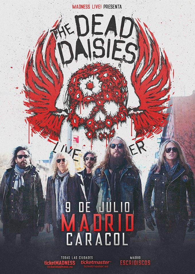 the dead daisies madrid cartel