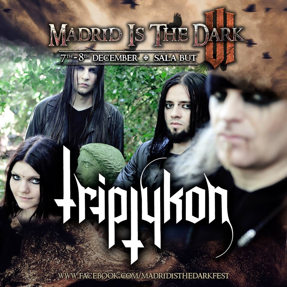triptykon -madrid id the dark