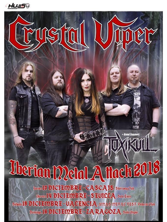 crystal viper - gira