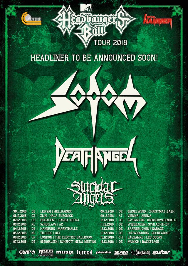 headbangers ball tour 2018