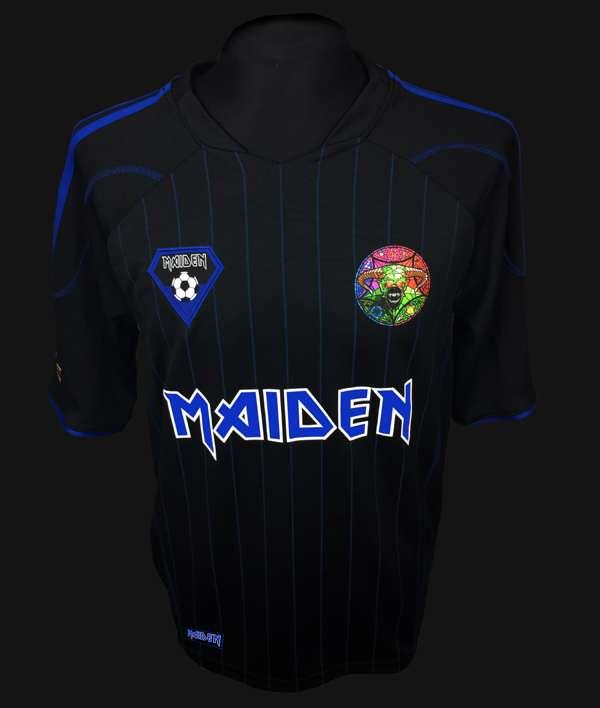 iron maiden - camiseta fútbol