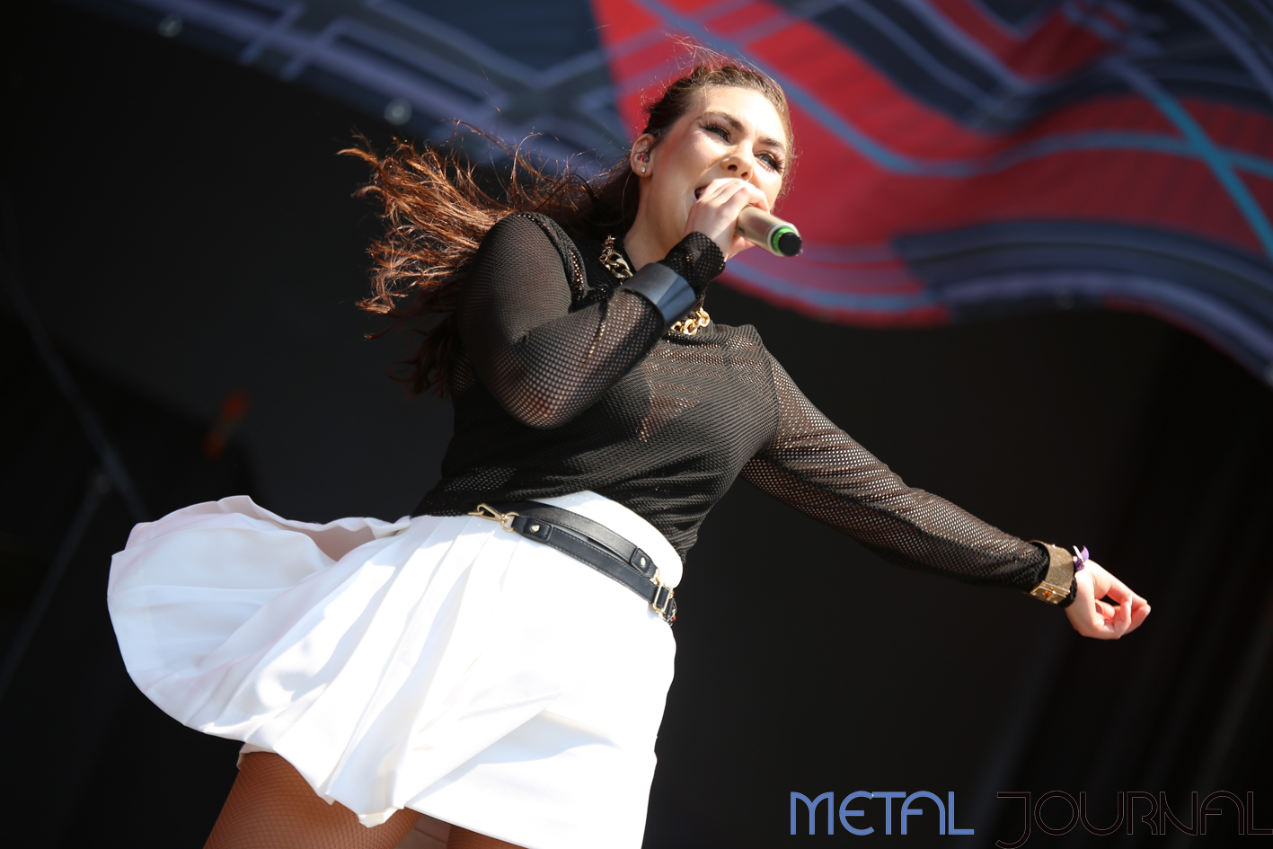 amaranthe rock fest 18 - metal journal pic 2