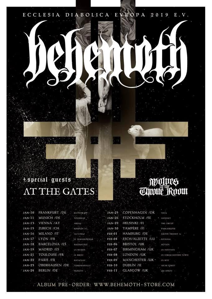 behemoth - at the gates cartel