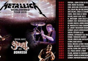 metallica europa tour 2019