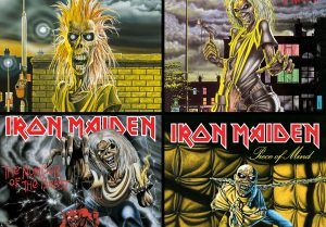 iron maiden cd's