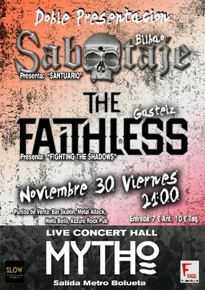 sabotaje the faithles cartel