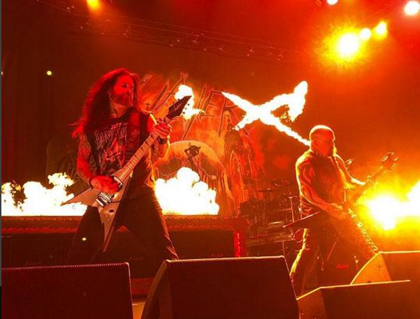 Phil Demmel sustituirá a Gary Holt en la gira europea de Slayer