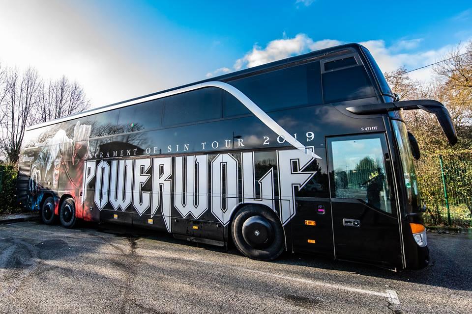 powerwolf bus