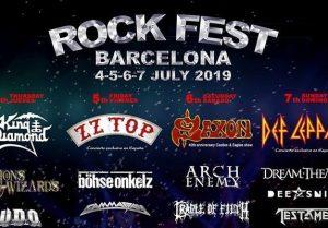 rock fest barcelona 2019 cartel