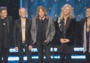 def leppard - rock and roll hall of fame
