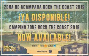rock the coast - zona de acampada