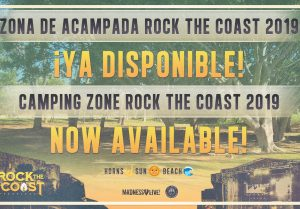 rock the coast - zona de acampada
