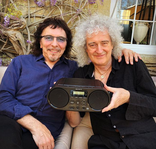 tony iommi - brian may