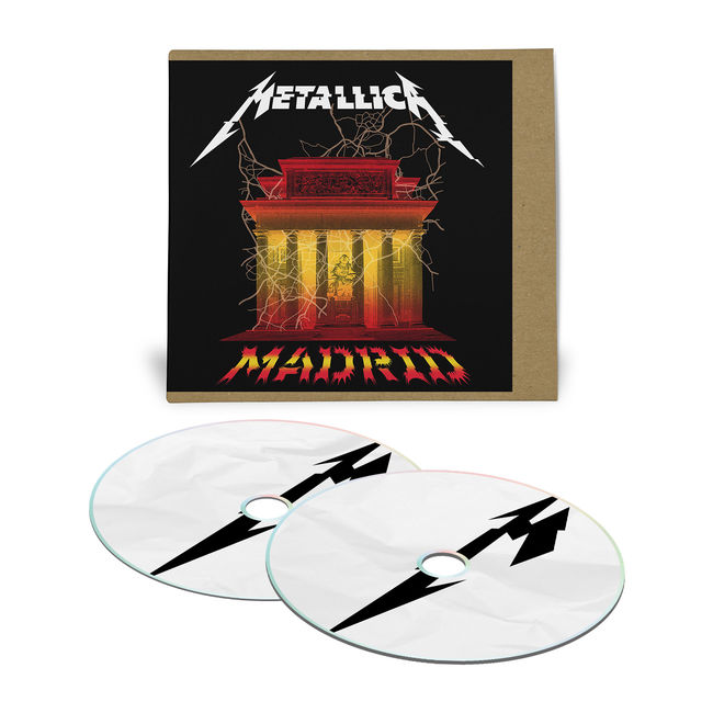 metallica - madrid CD