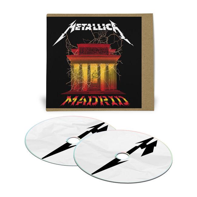 metallica - madrid CD