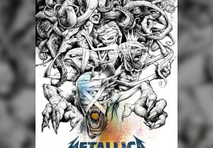 metallica - poster madrid
