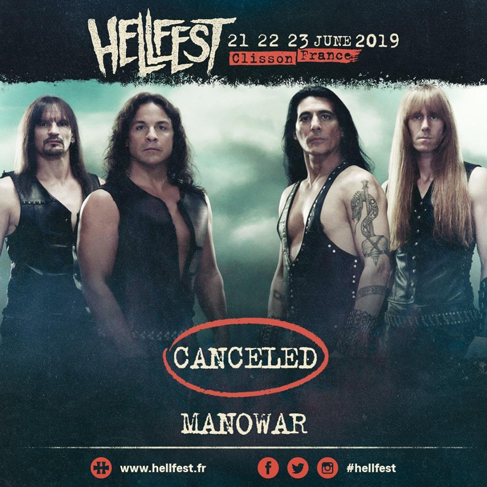 manowar hellfest 2019