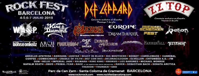 rock fest barcelona cartel 2019 pic 1