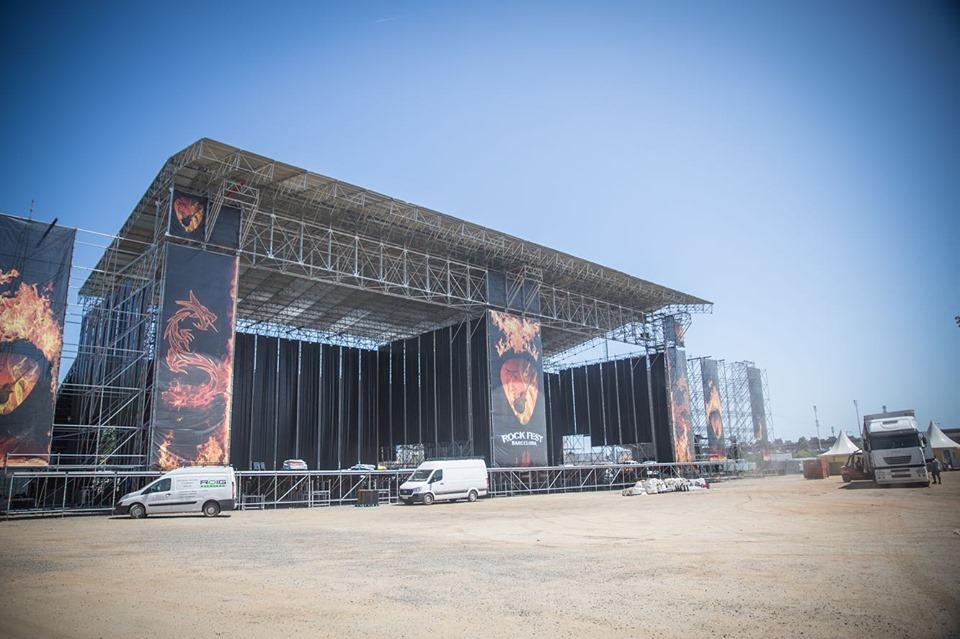 rock fest barcelona escenarios