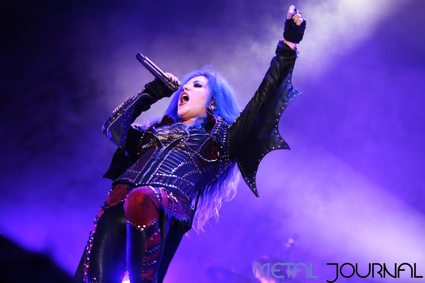 arch enemy - metal journal rock fest barcelona 2019 pic 4