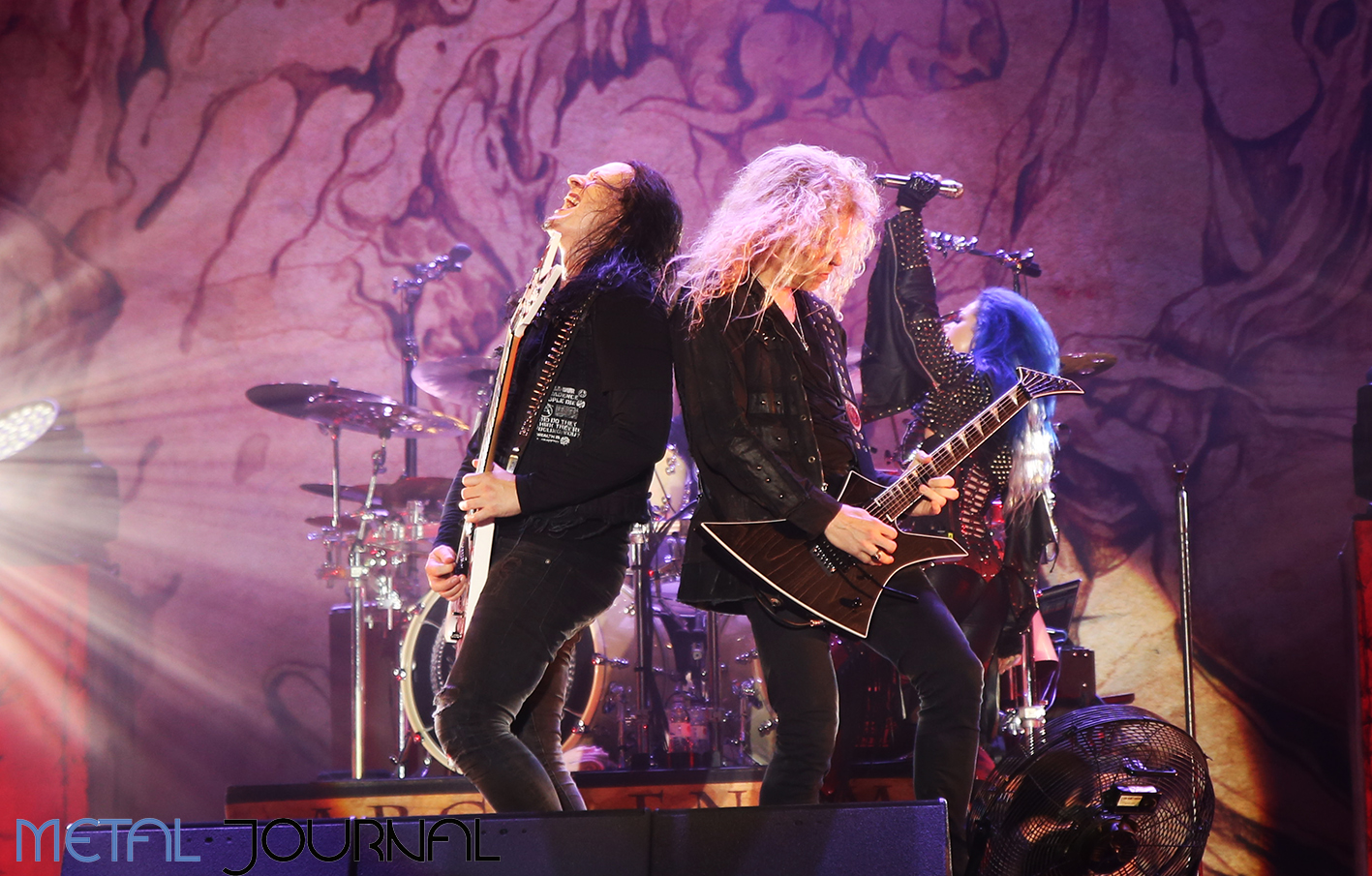 arch enemy - metal journal rock fest barcelona 2019 pic 6