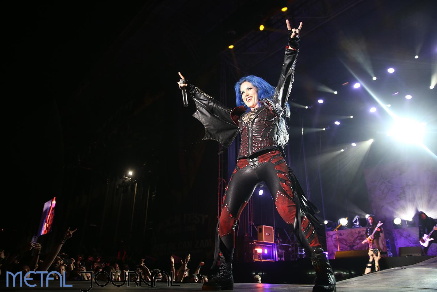 arch enemy - metal journal rock fest barcelona 2019 pic 8
