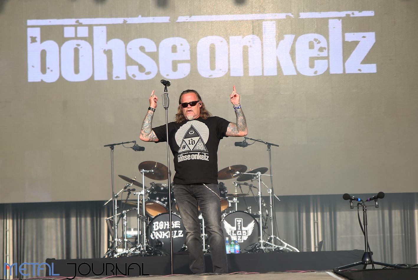bohse onkelz - metal journal rock fest barcelona 2019 pic 3