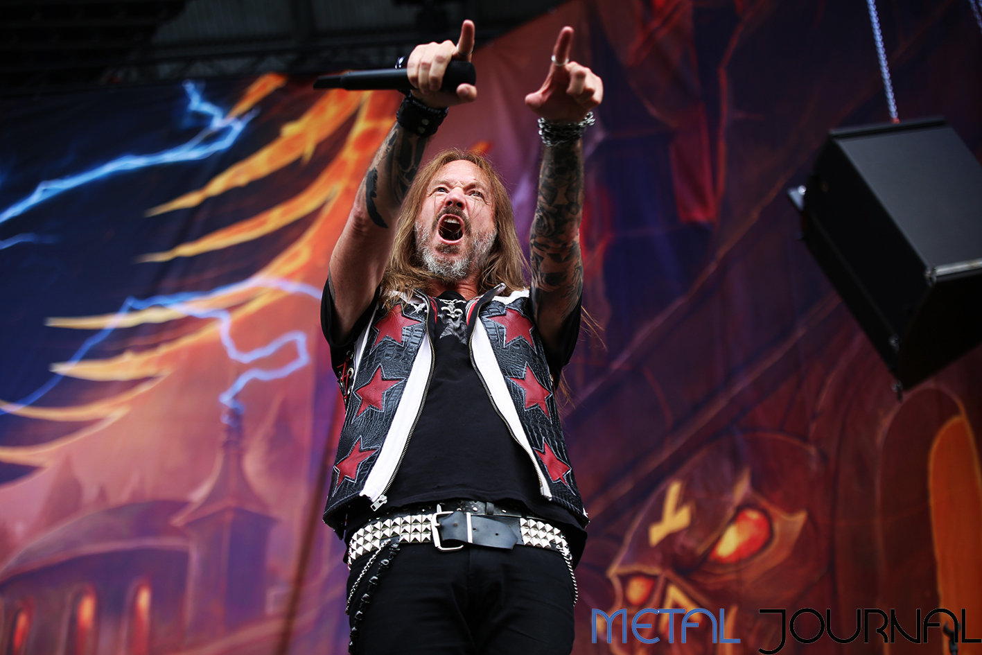 hammerfall - metal journal rock fest barcelona 2019 pic 1