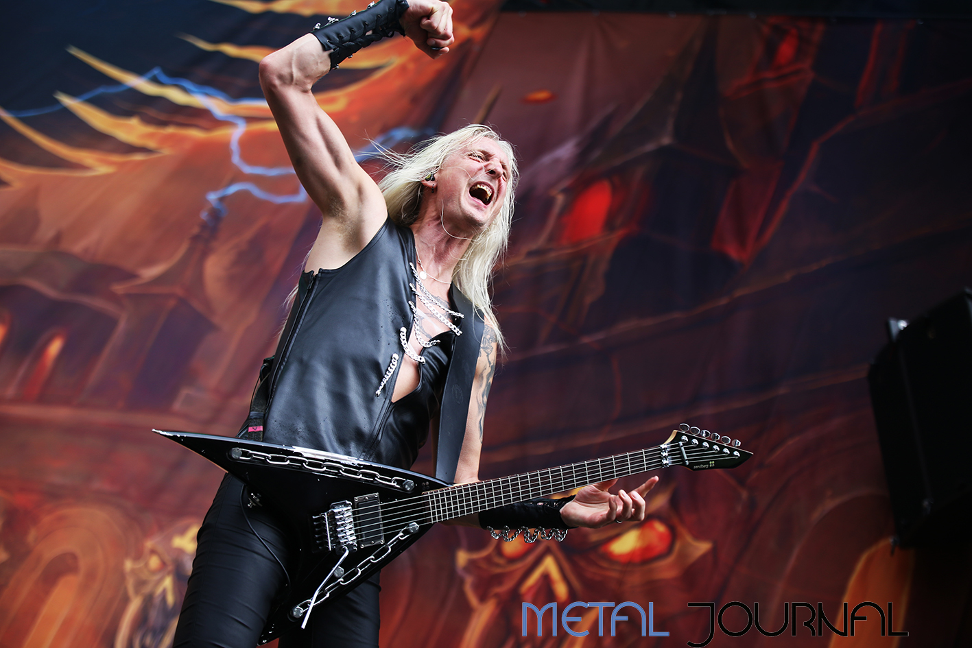 hammerfall - metal journal rock fest barcelona 2019 pic 10