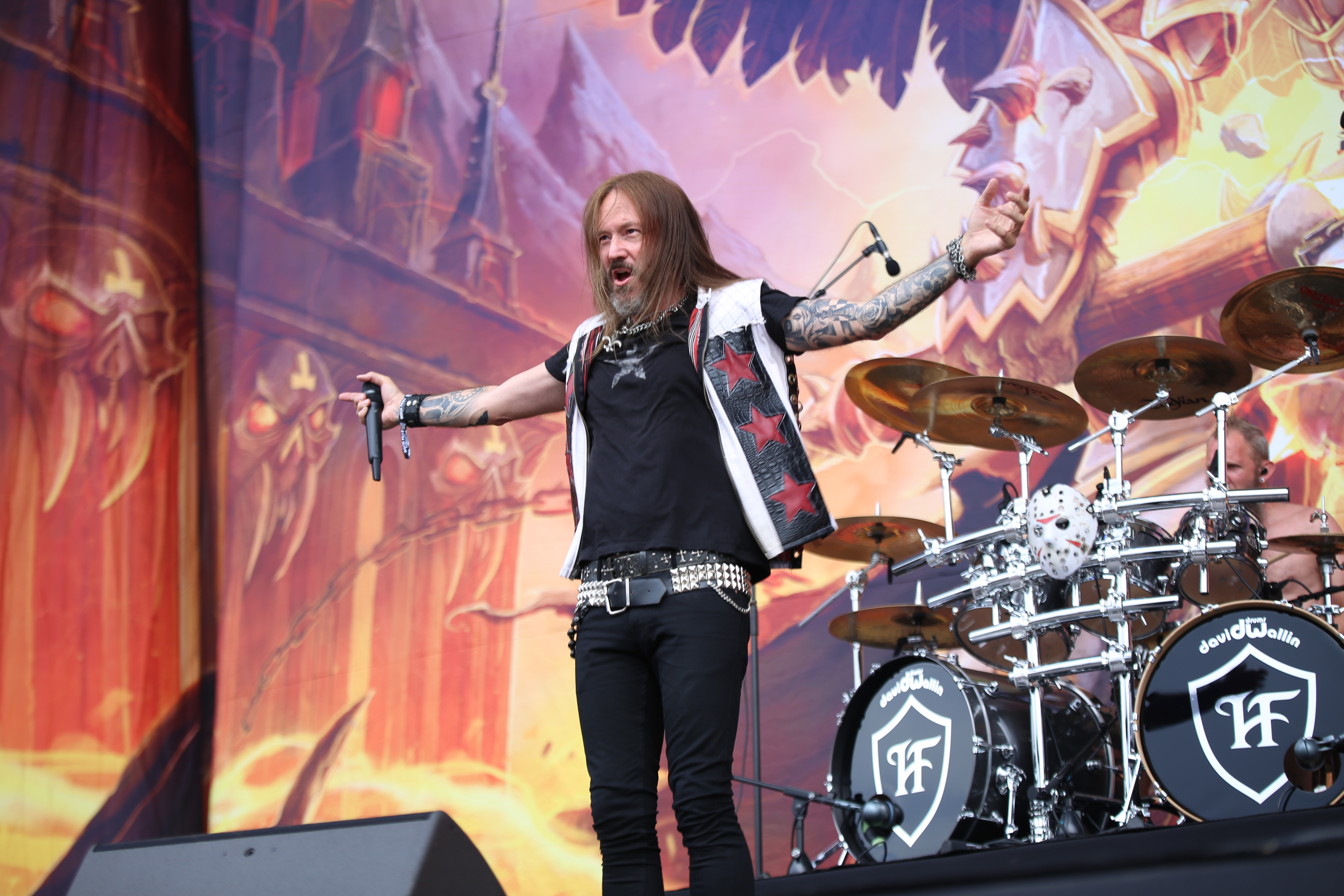 hammerfall - metal journal rock fest barcelona 2019 pic 11